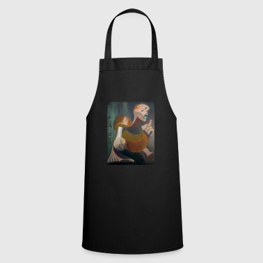Finger Furious in orange - Cooking Apron