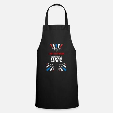 Proud Military Wife i am proud air force wife - Apron