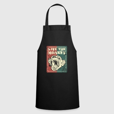 Save the monkey - Cooking Apron