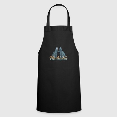Malaysia twin tower - Cooking Apron