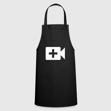 Camera | Symbol | White | gift idea - Cooking Apron