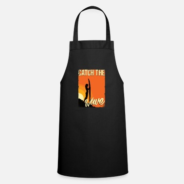 Sand Surfing girl - Apron