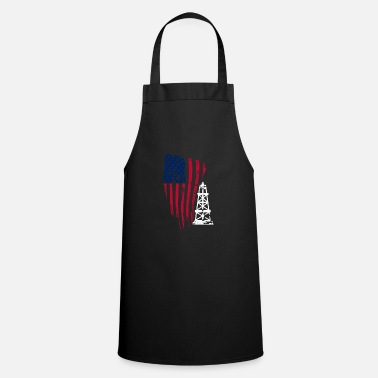 Oil Rig Oil Field Offshore Fraking Profession Gift - Apron