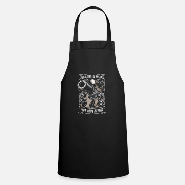 Of Arms The control of arms - Apron