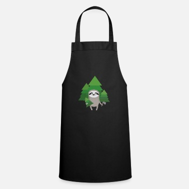 Hatchet lumberjack Sloth with hatchet - Apron