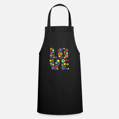 Flower Love by Cheerful Madness!! - Apron