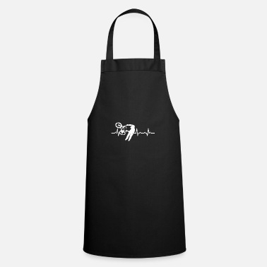 Bicyclette Heartbeat Bicyclette Bicycle Heart Rate - Apron