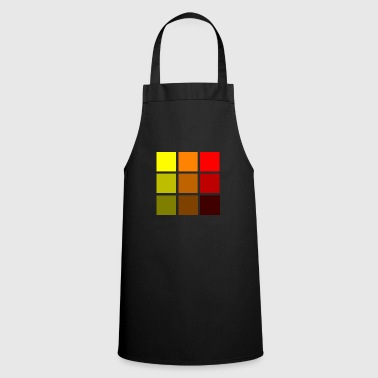 Colorful squares - Cooking Apron