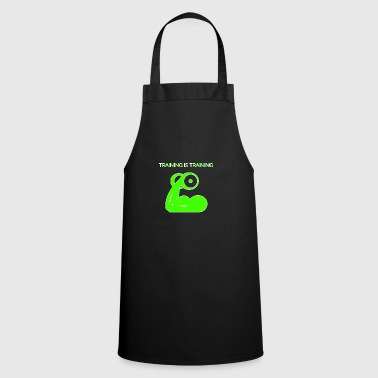Training is training - Cooking Apron