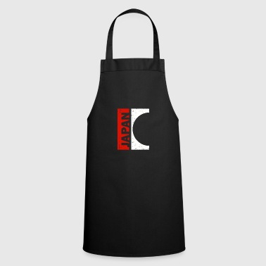 Japan Japanese Japanese Gift Red White - Cooking Apron