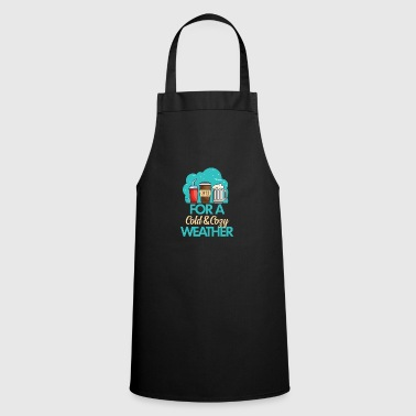 Weather Cold Weather - Cooking Apron