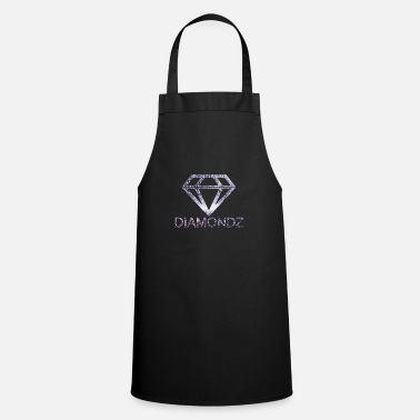 Mannequin Tshirt Fashion Winter Diamond Diamondz Diamond - Tablier de cuisine