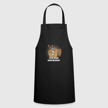 Middle-finger Sloth middle finger I AM THERE - Cooking Apron