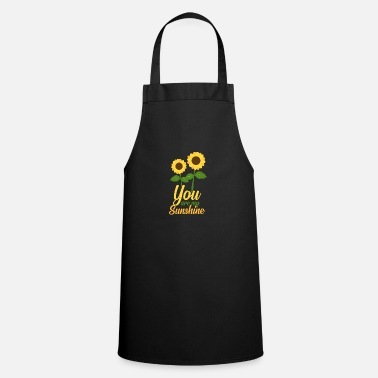 Blume This is something for sunny people - Cooking Apron