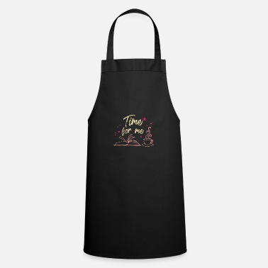Book Time For Me - Pink - Cooking Apron