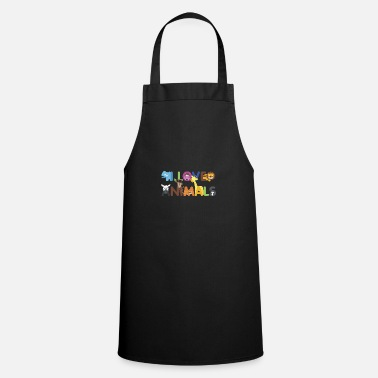 Animal Love I love animals love of animals - Apron
