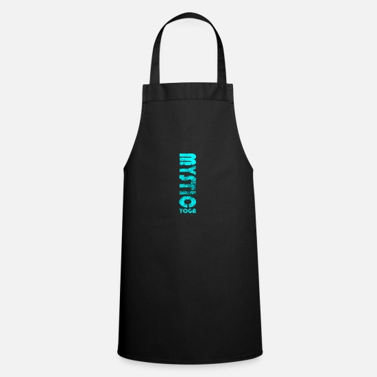 Birthday Aprons - Mystic Yoga - Apron black