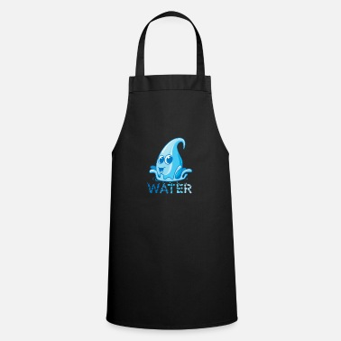 Geschenkiedee The most important asset of the earth, water - Apron