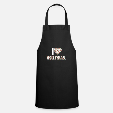 I Love Volleyball I love volleyball - Apron