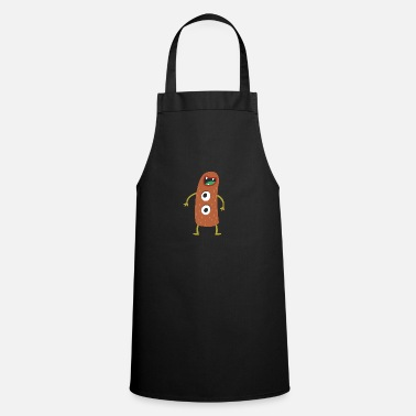 Scary Monster Weird-Eyed Monster - Apron