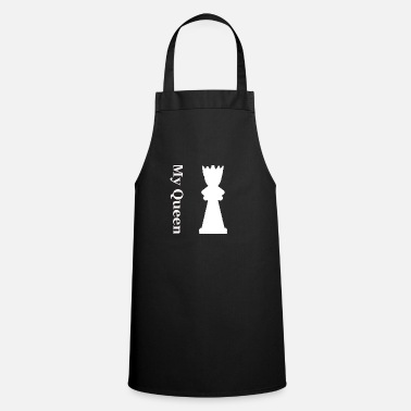 Queen King and queen - Apron