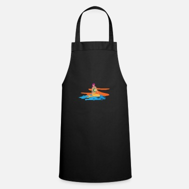 Neptune Mermaid as a mermaid and daughter of Neptune - Cooking Apron