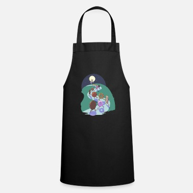 Pied Piper of biscuits - Apron