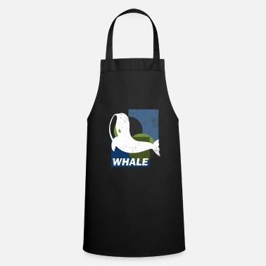 Wale River dolphin whales Orka mammal gift sei whale - Cooking Apron