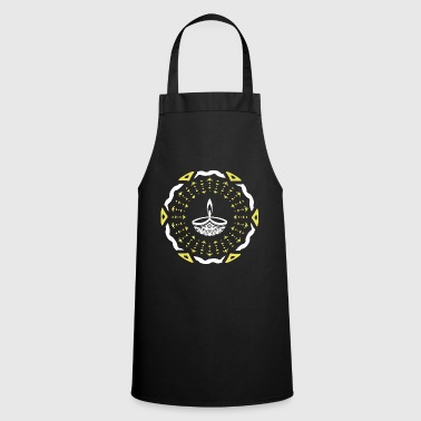 India Diwali Divali Dipavali Festival Festival of Lights India - Cooking Apron