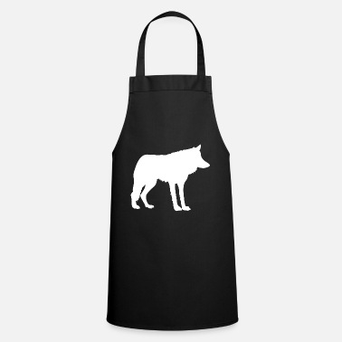 Wolf Wolf Wolf Pack Wolf Pack - Cooking Apron
