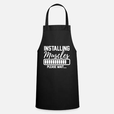 Personal Muscle Building Fitness Cool Gift - Delantal de cocina