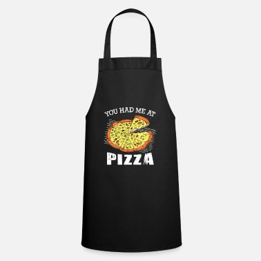 Bacon Pizza Couples Cheese Couples Cool gift - Cooking Apron