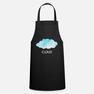 Cloud Cloud cloud sky weather sun clouds clouds - Cooking Apron