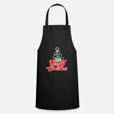 Schwarz Christmas Christmas Christmas Christmas - Cooking Apron