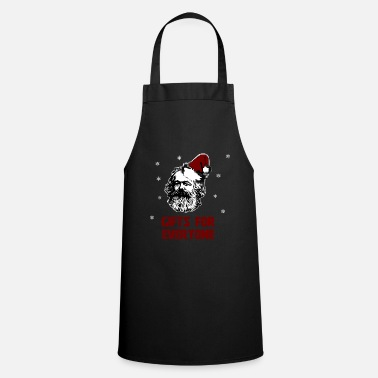 Marx GIFTS FOR EVERYONE - Karl Marx Christmas - Cooking Apron
