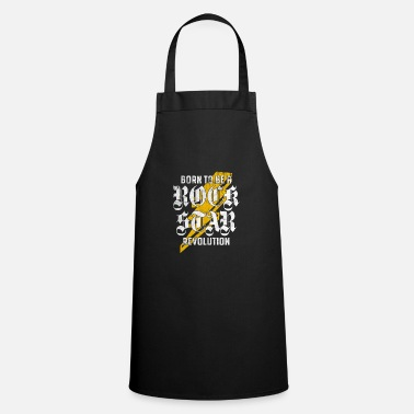 Rockero Regalo fresco de Rock N Roll Star Born Revolution - Delantal de cocina