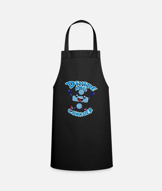 Read Aprons - Math division - Apron black