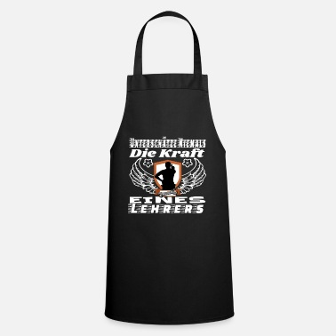 Marriage Never underestimate a teacher T-shirt - Apron