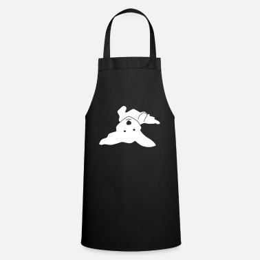 Havanese on his back - Apron
