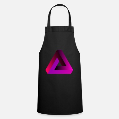 Pink triangle - Apron