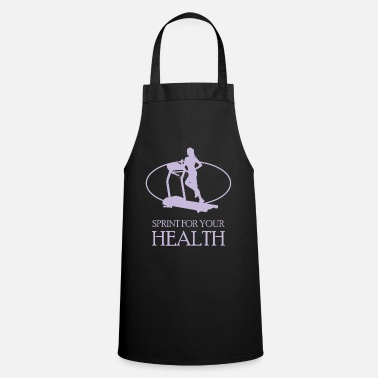 Sprinting Sprint for your health - Cooking Apron