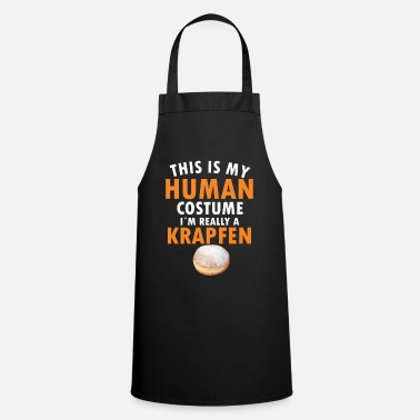 Carnival Fritters Donut Costume - Carnival Donut Human Costume - Apron