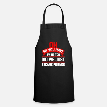 Twins Mom twins mom gift i mothers day mommy - Apron