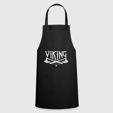 Viking Vikingo Viking Metal - Delantal de cocina