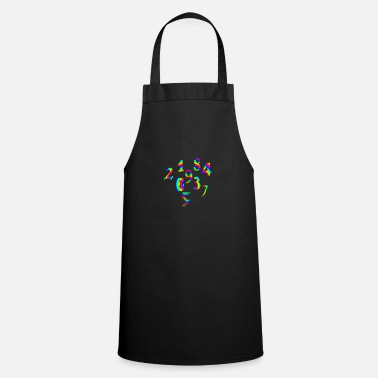 Number Numbers numbers numbers - Apron
