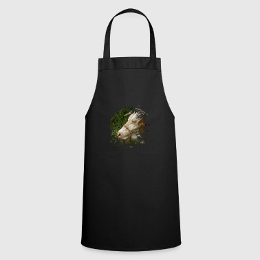 Meadow Ox in the meadow - Cooking Apron