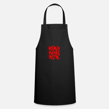 Doom Heavy Metal Red - Apron