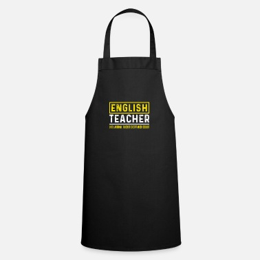 Teacher English Teacher - English Teacher - Grembiule da cucina