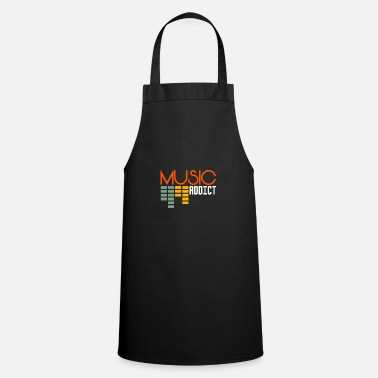 Addicted Music Addict music addict - Apron