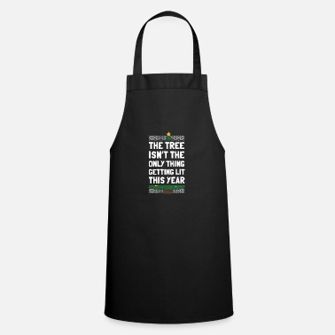 Evil Christmas Advent Santa Gift - Cooking Apron